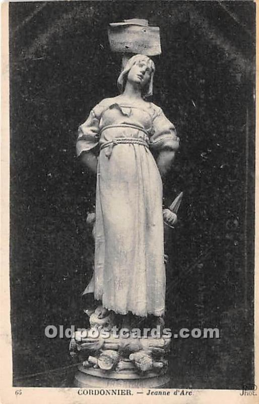 Cordonnier, Jeanne d'Arc Unused