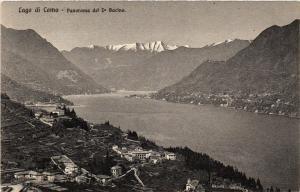 CPA Lago di Como Panorama del Io Bacino. ITALY (396433)