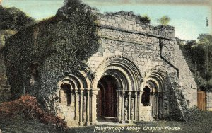 Haughmond Abbey Chapter House Postcard