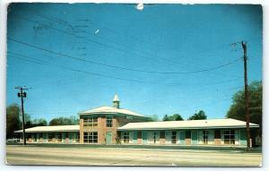 Postcard NY LI Long Island Huntington Walt Whitman Motels F11