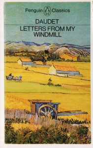 Daudet Letters From My Windmill 1978 Book Postcard