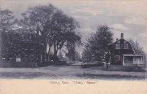 Street view , Holiday House , SHIRLEY , Massachusetts , Pre-1907