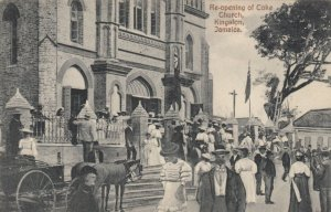 KINGSTON , JAMAICA , 1900-10s ; Re-Opening of Coke Church