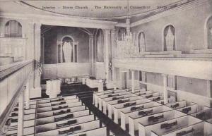 Connecticut Storrs Interior Storrs Church Univ Of Conn Albertype