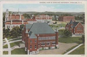New York Syracuse General View Of Syracuse University