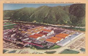 BURBANK, California, 1930-40s; Home Of Warner Brothers And First Notional Pic...