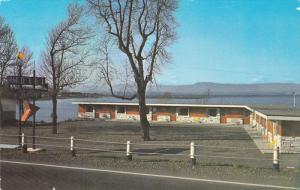 Motel and Restaurant de la Plage, MONTMAGNY, Quebec, Canada, 40-60´s