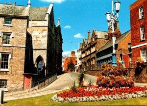 England Tiverton Town View