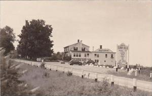 New Hampshire Ossipee Sun Villa Restaurant &  Ossipee Inn 1946 Real Photo ...