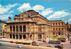 Vienna The State Opera Staatsoper Auto Vintage Cars