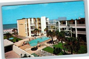 St Petersburg FL-Florida, The Alden Apartment & Motel, Chrome c1972 Postcard