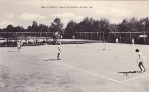 Tennis Courts, Wenonah, Naples, Maine, 1930s