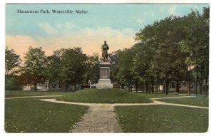 Waterville, Maine, Monument Park