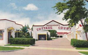 BOZEMAN, Montana, 1940-1960s; Bonander's Cottage Court, On U. S. 191
