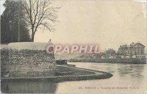 Old Postcard Meaux Bellevue Turret