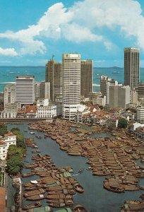 SINGAPORE , 1980s ; Boat Quay