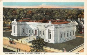 LPS32 Concord New Hampshire Historical Society Vintage Postcard