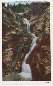 Colorado Colorado Springs Seven Falls Cheyenne Canon