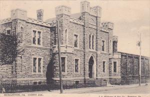 County Jail. , SCRANTON , Pennsylvania , PU-1905