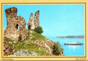Scotland Isle Of Skye Castle Maoi