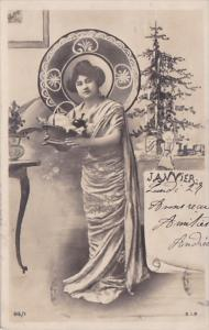 Month Of The Year January Glamorous Lady 1903