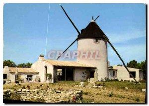 Old Postcard Ile de Noirmoutier Vendee Barbatre Moulin de la Fosse