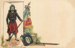 French army indigenous military spahis North Africa cavalry regiment Zouave