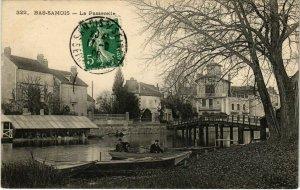 CPA Bas-Samois - La Passerelle (1037870)