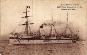 CPA Transport de 1er classe BIEN-HOA SHIPS (703556)