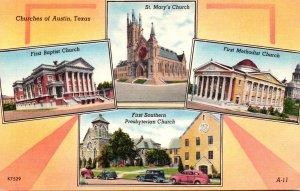 Texas Austin Churches Multi View