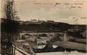 CPA LEIGNEUX - Pont du LIGNON (580797)