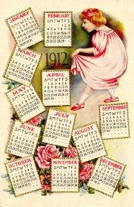 Greeting - New Year, 1912 Calendars