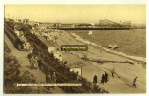 tp2769 - Pier & Sands from West Cliff , Clacton-on-Sea , Essex - postcard
