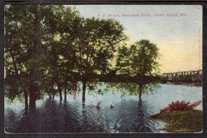 Railroad Bridge,Wisconsin River,Grand Rapids,WI