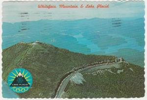 Whiteface Mountain and Lake Placid - Adirondacks, New York - pm 1990