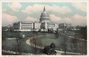 West front, U.S. Capitol, Washington, DC, Postcard, Unused, Detroit Publishing