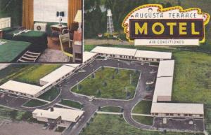 Georgia Augusta The Augusta Terrace Motel 1954