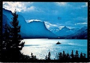 Montana Glacier National Park Goose Island 1983