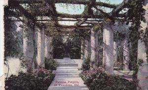 Famous Pergola At Pasadena California