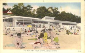 The New Bath House - Amusement Park - Crystal Beach, Ontario, Canada