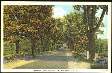 Newburyport MA -  Newburyport Turnpike, 1920s