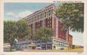 Wisconsin Madison Hotel Loraine Curteich