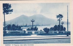 NAPOLI (Naples) , Italy , 1910s ; Il Vesuvio visto dalla Litoranea
