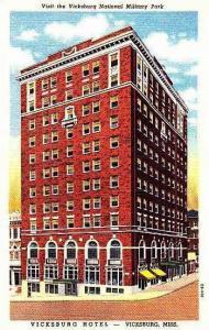 Mississippi Vicksburg Vicksburg Hotel