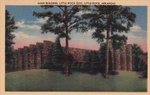 Main Building Little Rock Zoo Little Rock Arkansas