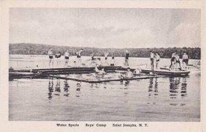 New York Saint Josephs Water Sports Boys Camp Albertype