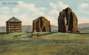 Montana Ruins Of Fort Benton