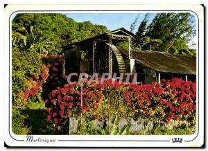 Postcard Modern Old mill Martinique to St Pierre