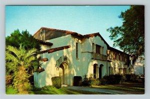 Winter Park FL-Florida, Rollins College, Corrin Hall, Chrome Postcard