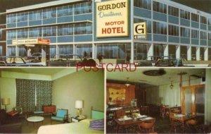 1965 GORDON DOWNTOWNER MOTOR HOTEL at Ellice & Kennedy, WINNIPEG, MAN. CANADA
